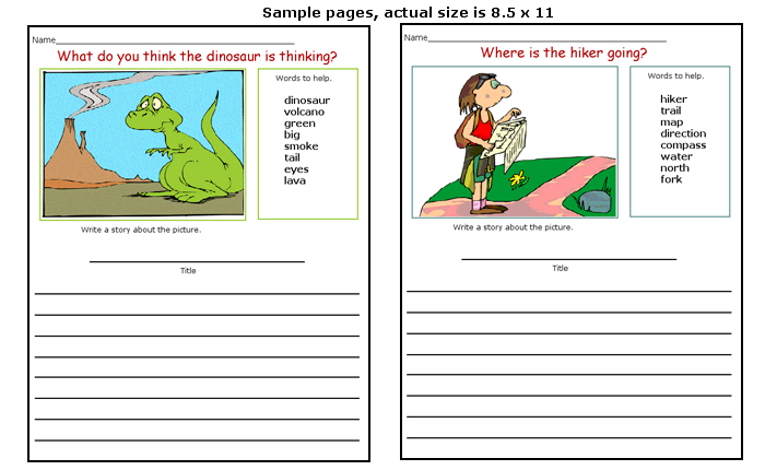9 Best Images Of Printable Story Starter Ideas Christmas