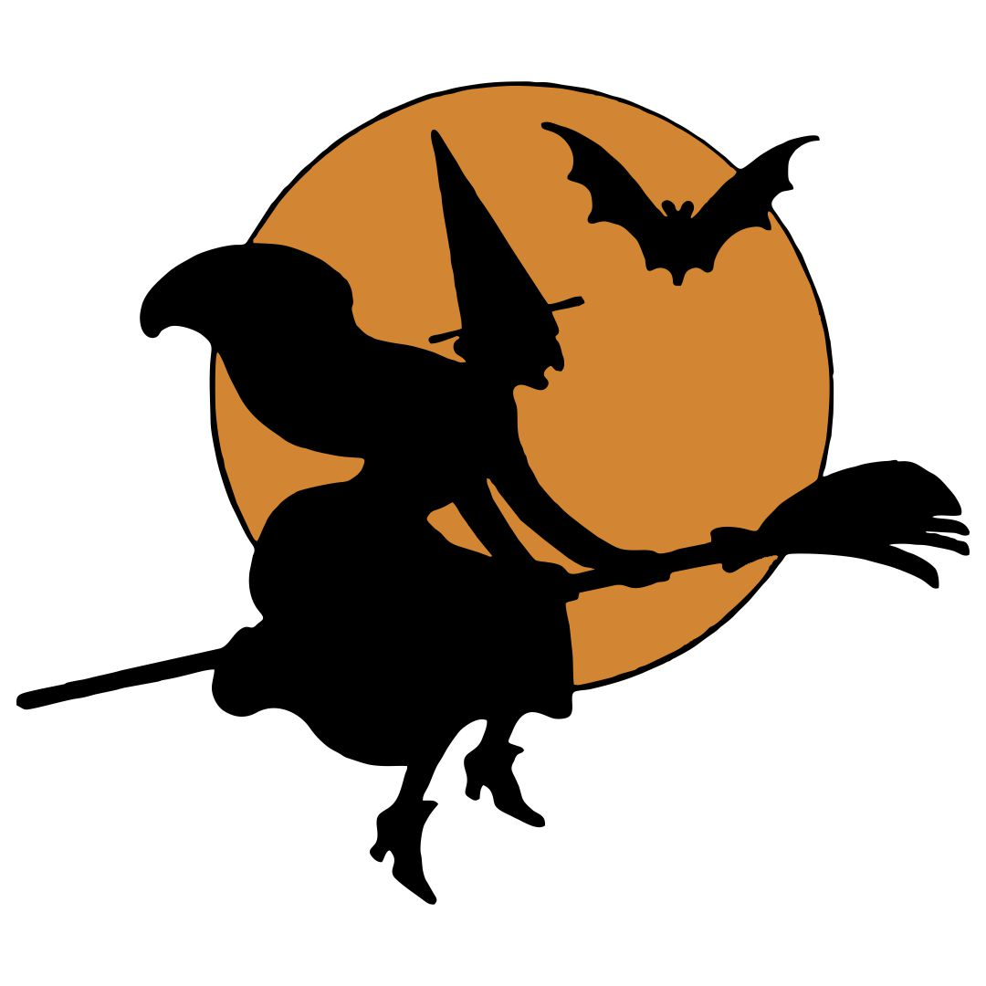 6 Images of Free Printable Vintage Halloween Witch