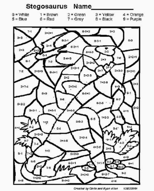 Fun Math Coloring Pages 5th Grade