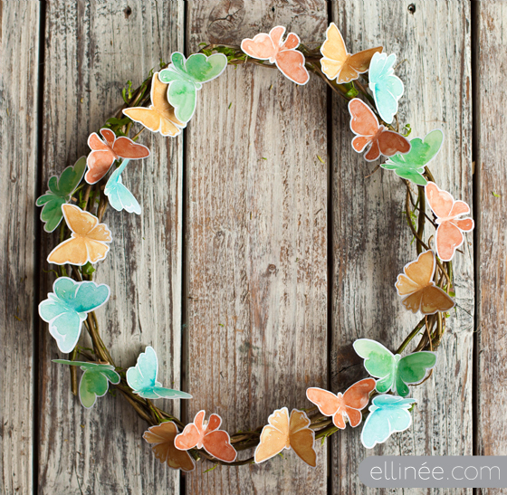 Butterfly Wreath DIY