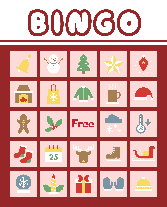 6 Images of Christian Printable Christmas Bingo
