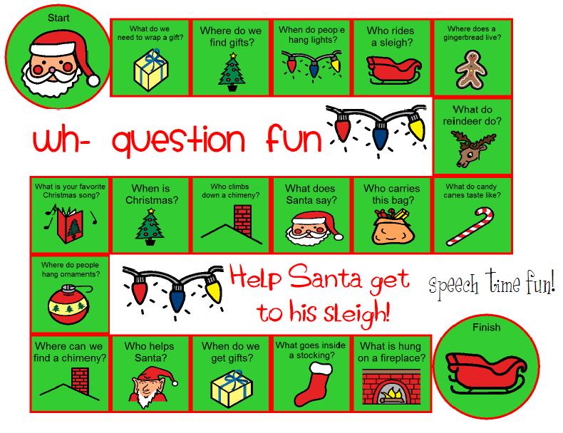 Printable Christmas Board Games