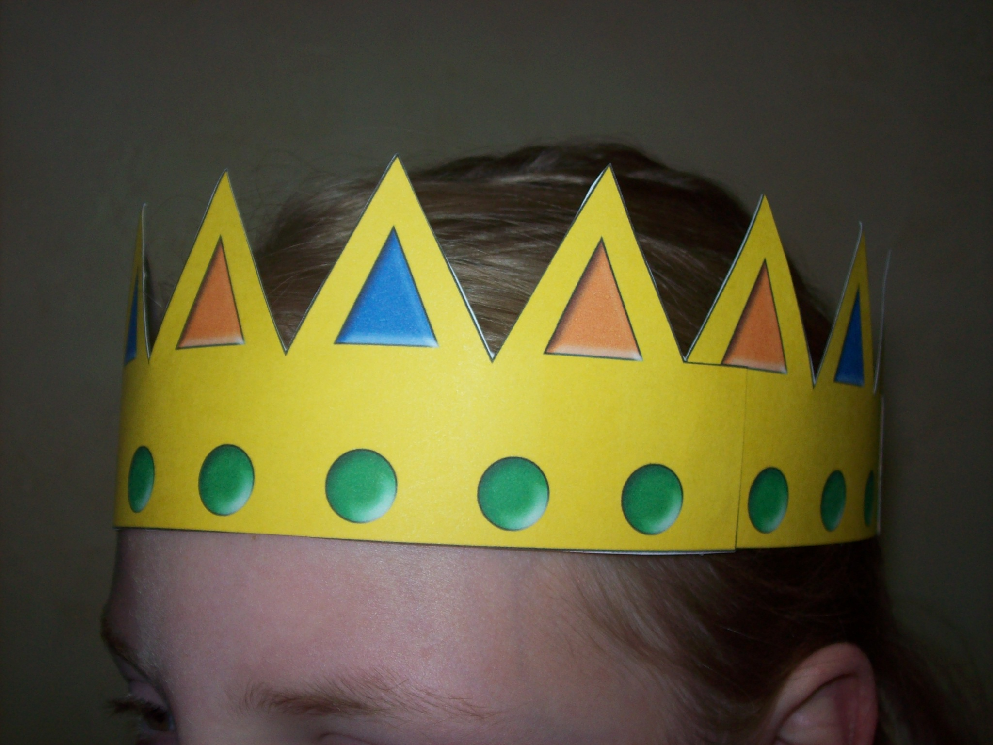 8 best images of free printable crown craft free