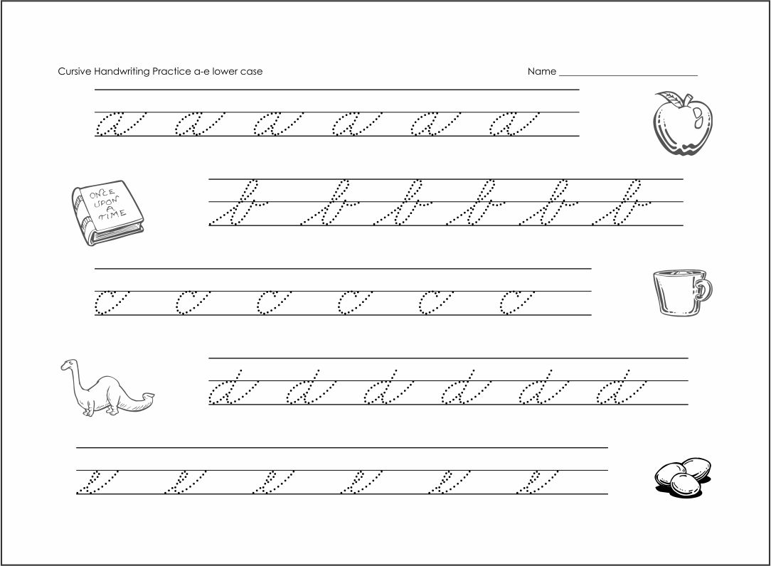 Cursive Writing Worksheets Letter B