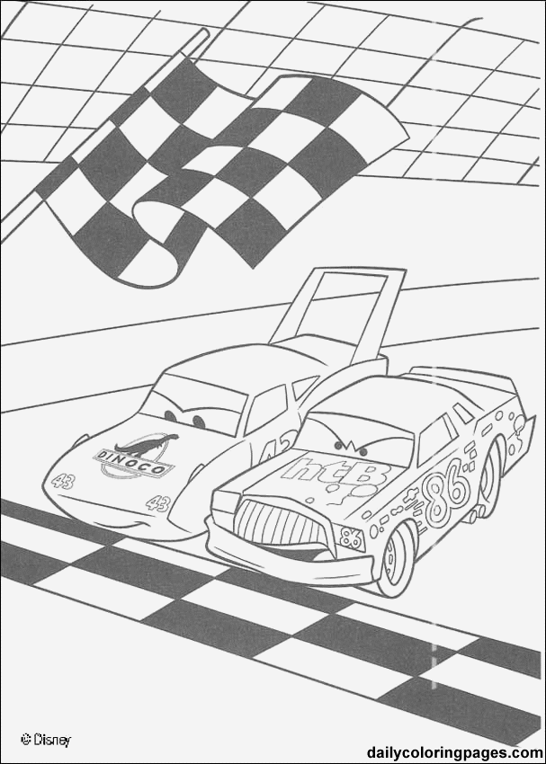 7 Images of Cars Movie Printables