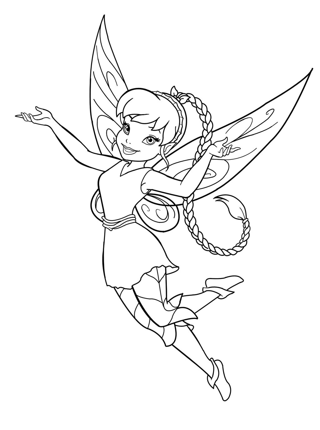 9 Images of Free Printable Fairy Art