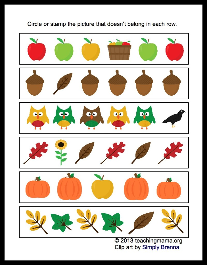 Best Images of Preschool Fall Dot Art Printables Printable Gumball ...