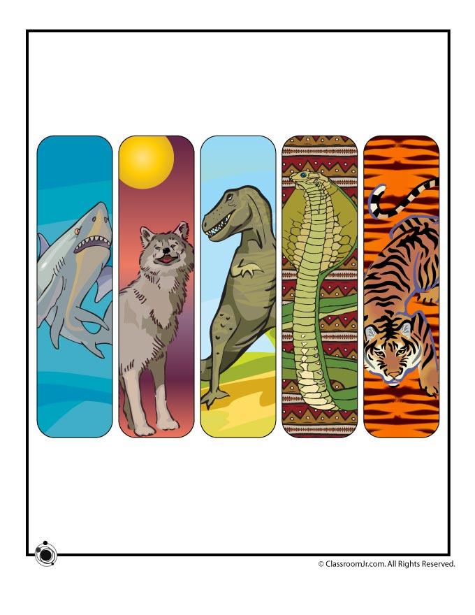 Free Printable Animal Bookmarks