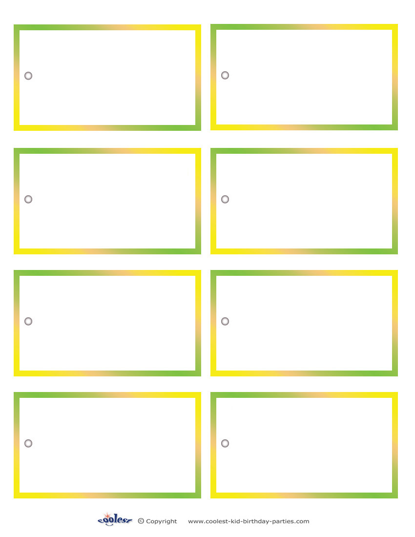 5 best images of printable blank gift tags free