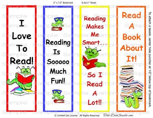 Free Printable Boy Bookmarks