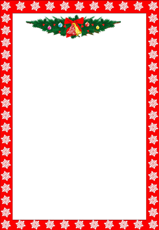 Free Printable Christmas Borders Clip Art