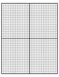4 Images of Printable Full Page Coordinate Plane