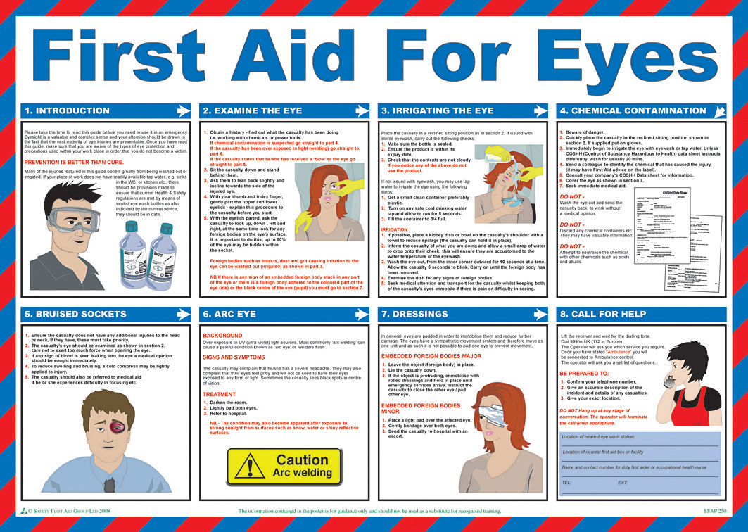 7 Images of Free Printable First Aid Guide