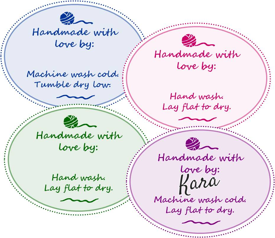 Free Printable Handmade Tags
