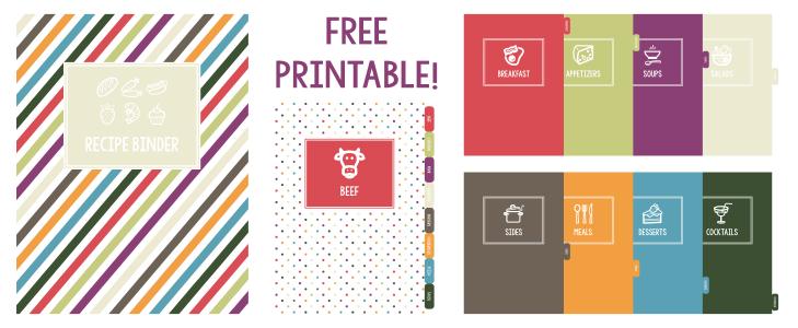 5 Images of Free Printable Binder Dividers