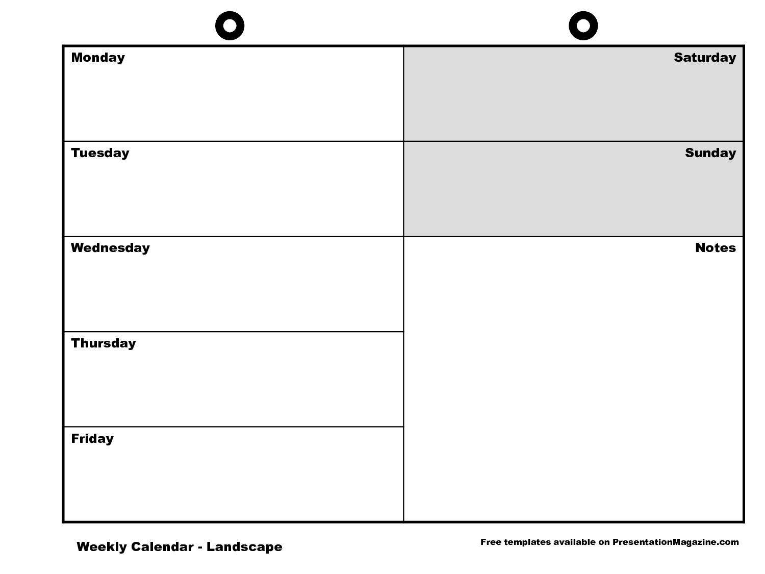 Template Weekly Calendar. free weekly schedule templates for word ...