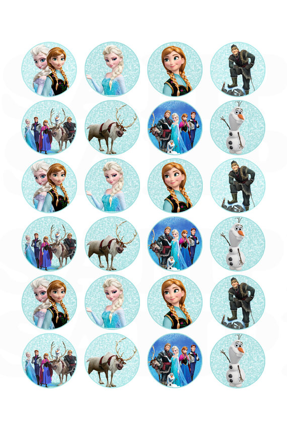 Frozen Disney Stickers Printable Free