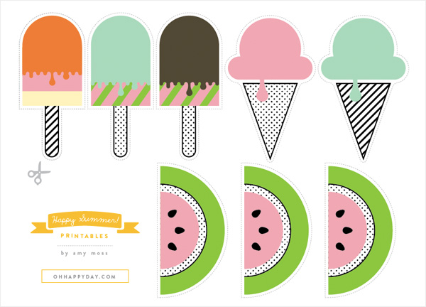 Happy Summer Printable
