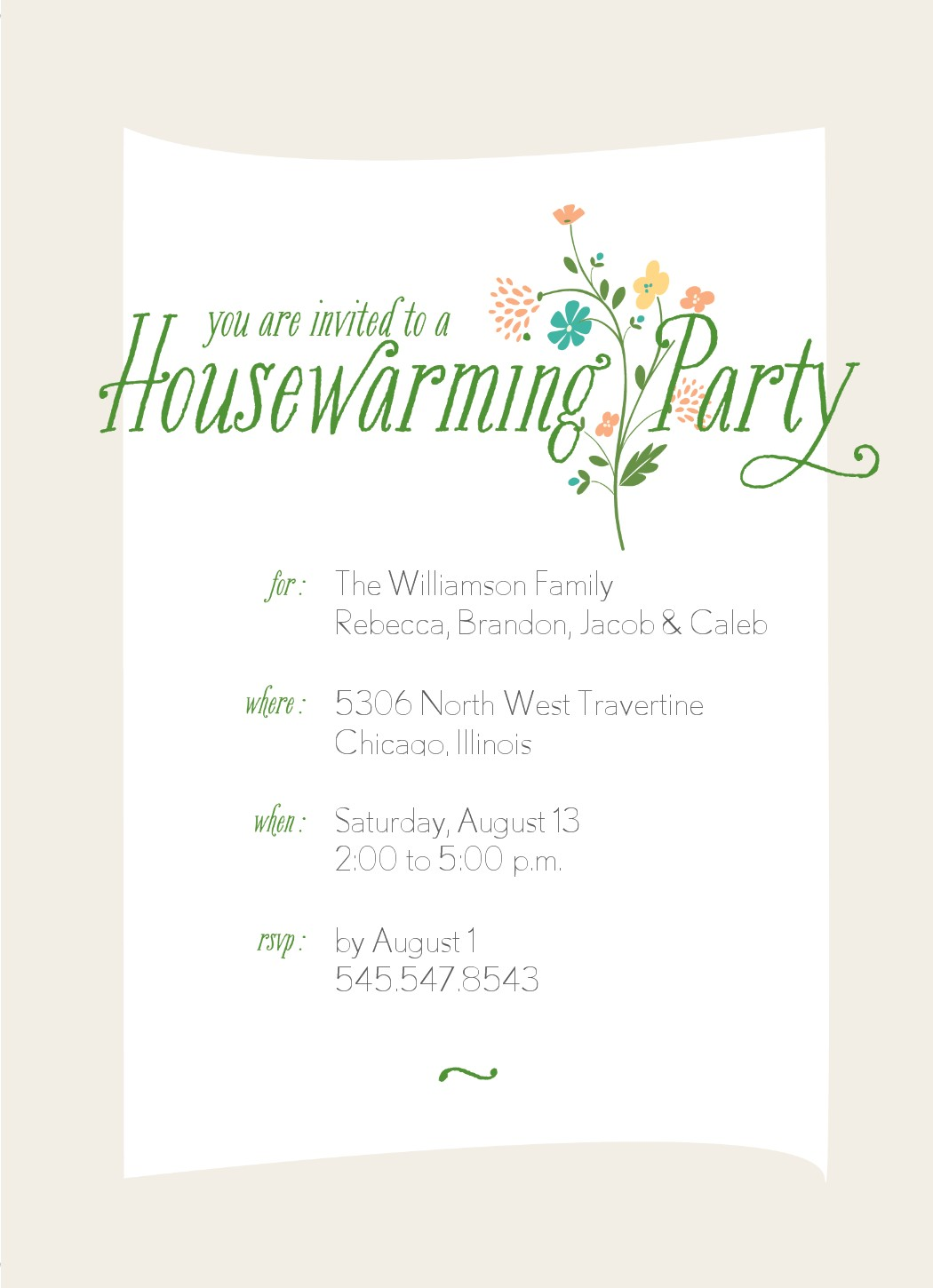 Housewarming Party Invitations Template Housewarming Invitation – Housewarming Party Invitations Free
