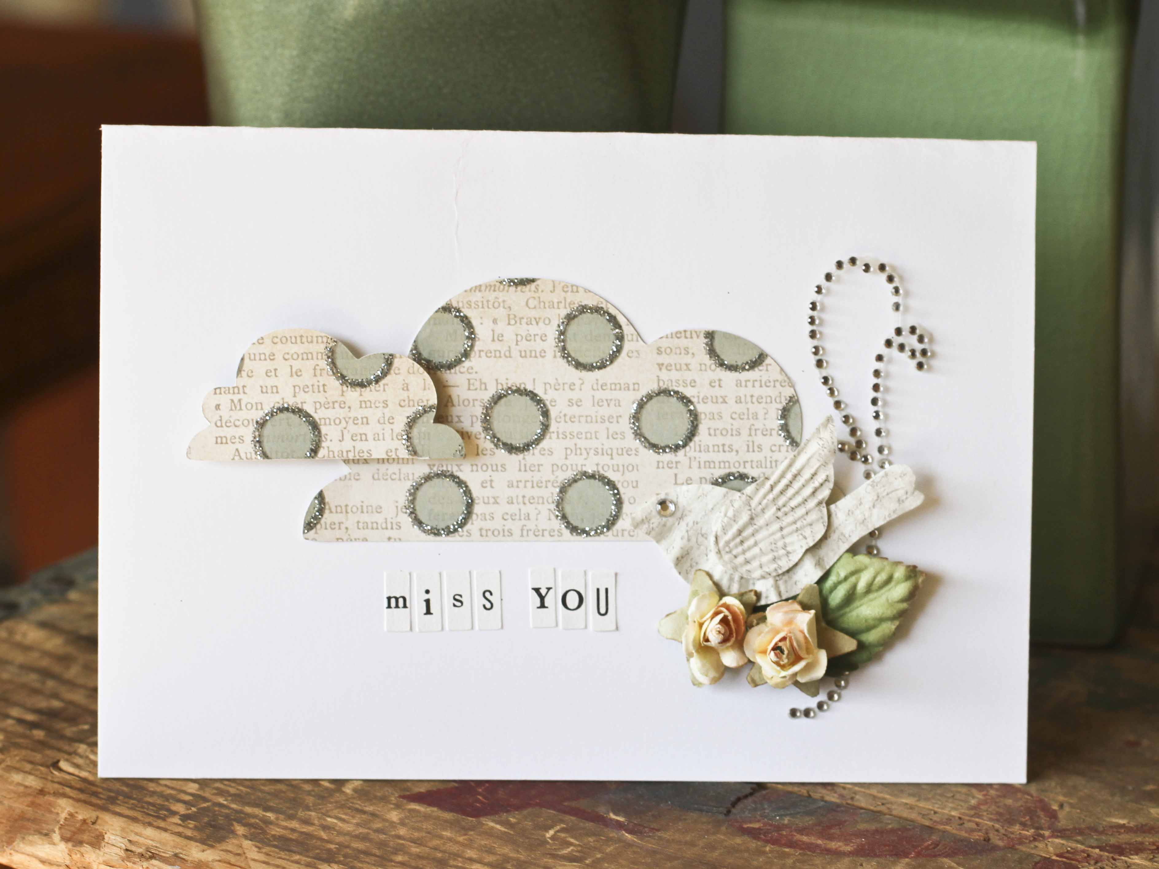 5 Images of Missing You Owl Tags Printable