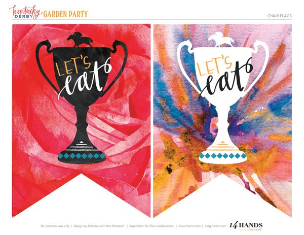 6 Images of 2015 Kentucky Derby Party Printables Free