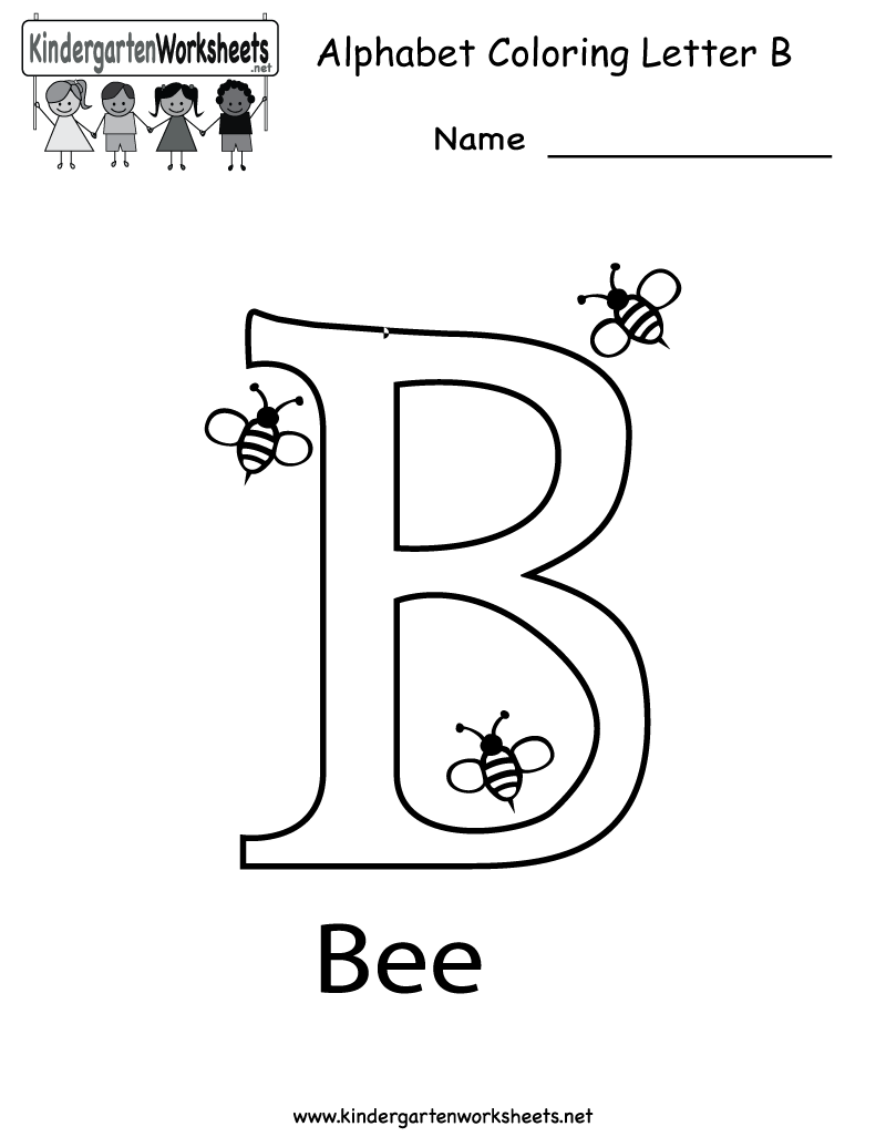 5 Images of Letter B Printables For Toddlers