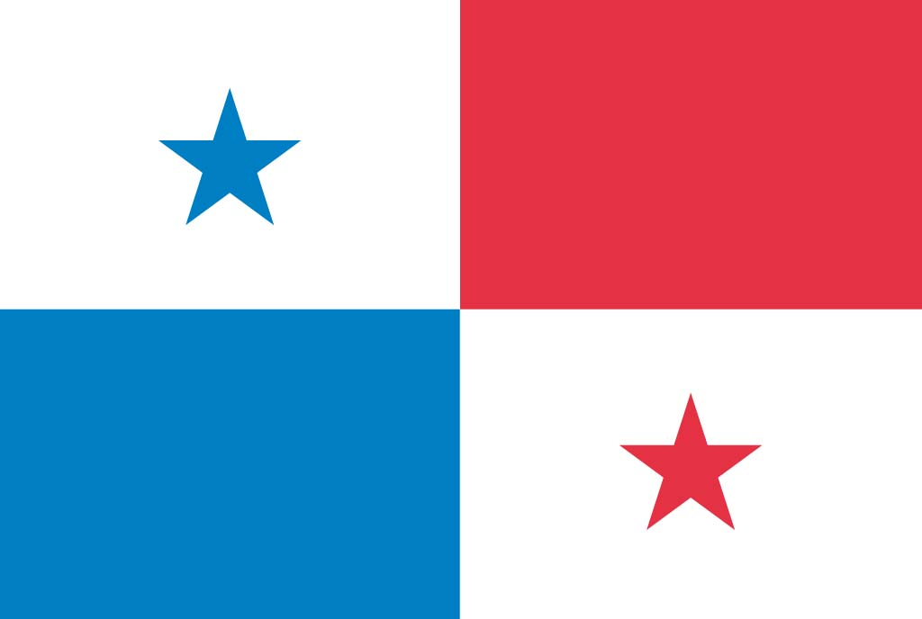 4 Images of Panama Flag Printable
