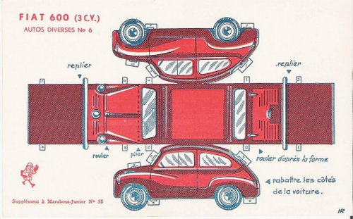 6 Images of Printable Model Cars
