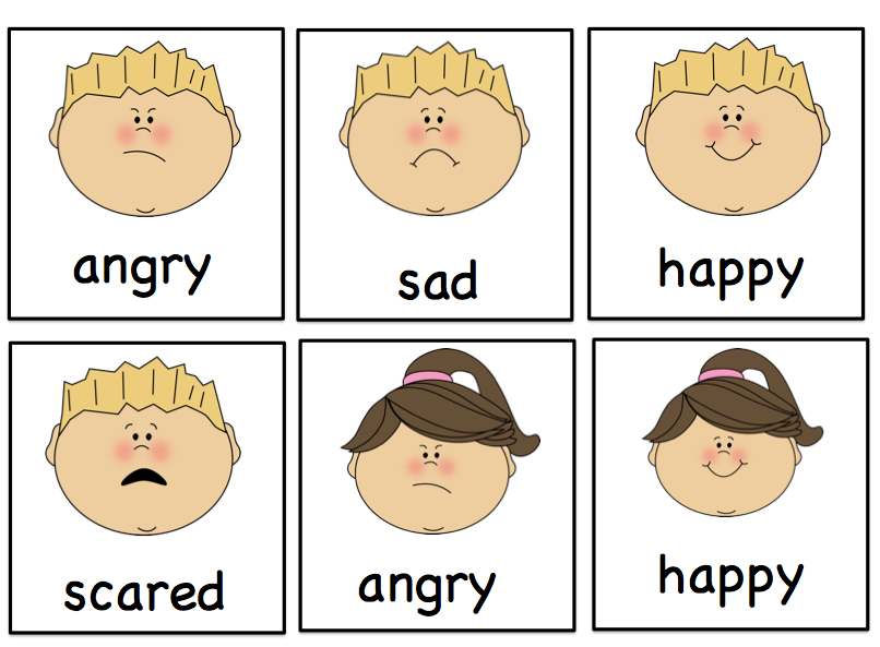 5 Best Images of Preschool Printables Emotions Feelings ...