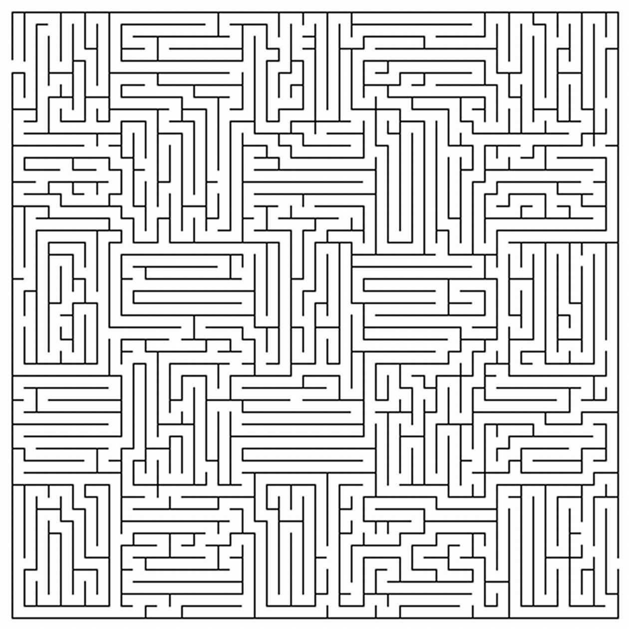 5 Images of Printable Mazes For Adults