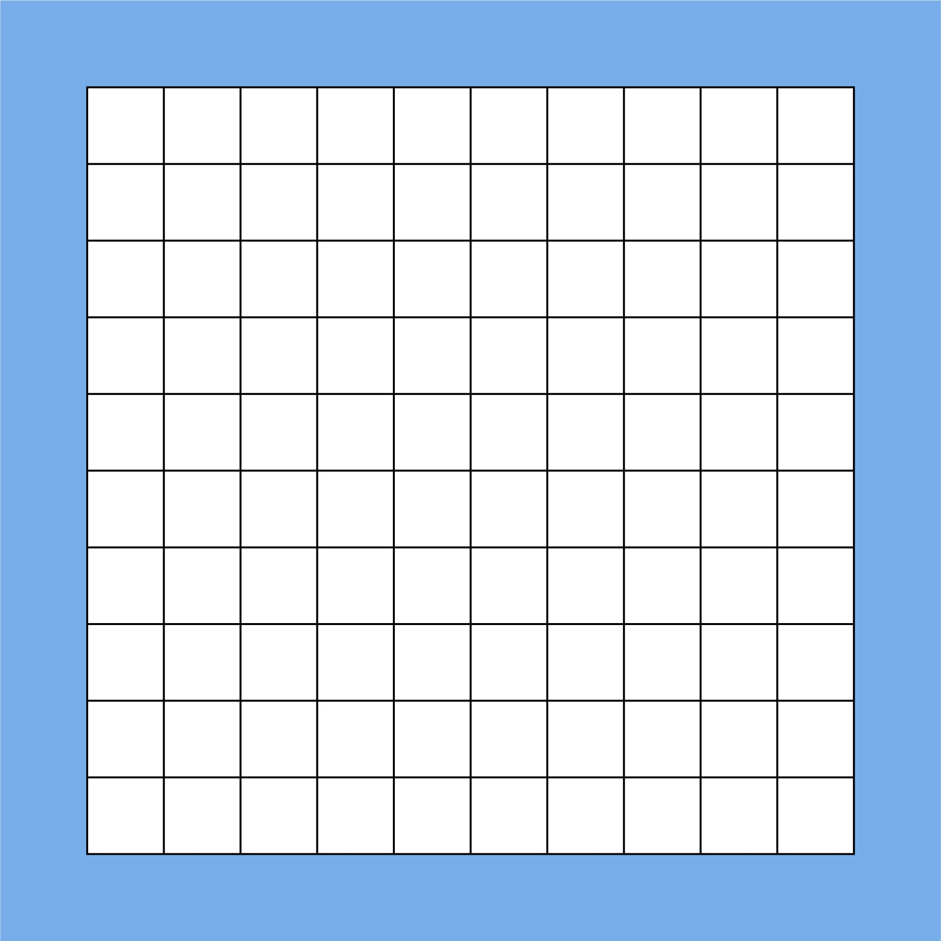 5 Images of Blank Hundredths Grids Printable