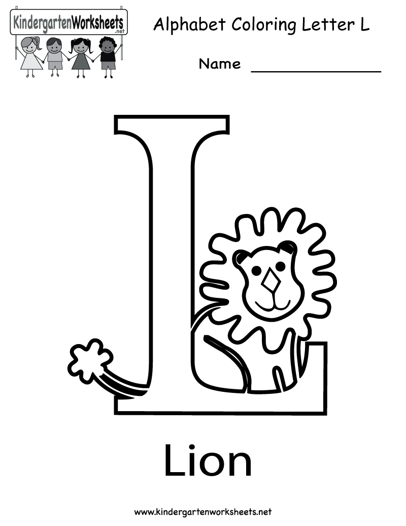 6 Images of Letter L Printable Worksheets