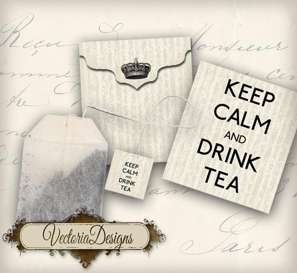 Printable Tea Bag Tag