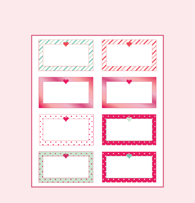 7 Images of Friends Notes Printables