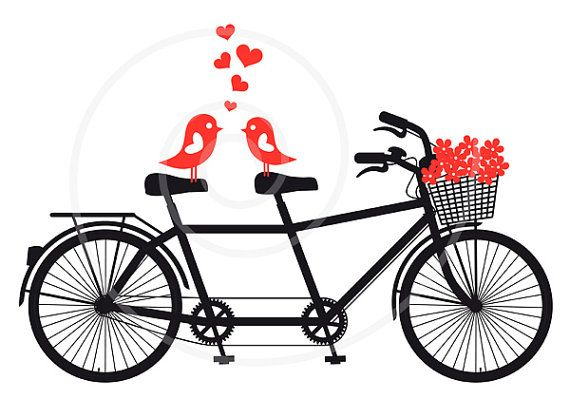 5 Images of Bicycles Clip Art Printable