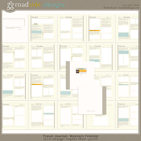 7 Images of Printable Travel Journal Template