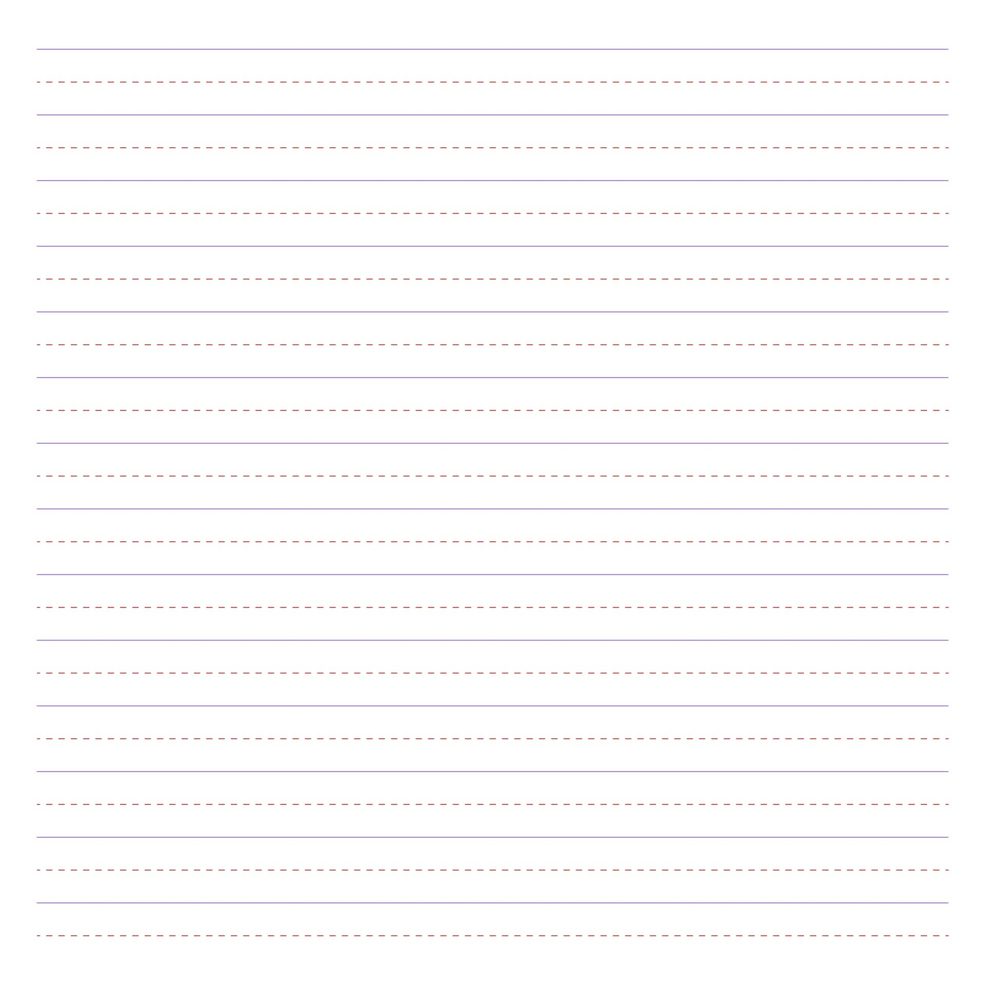 2nd Grade Printable Lined Paper