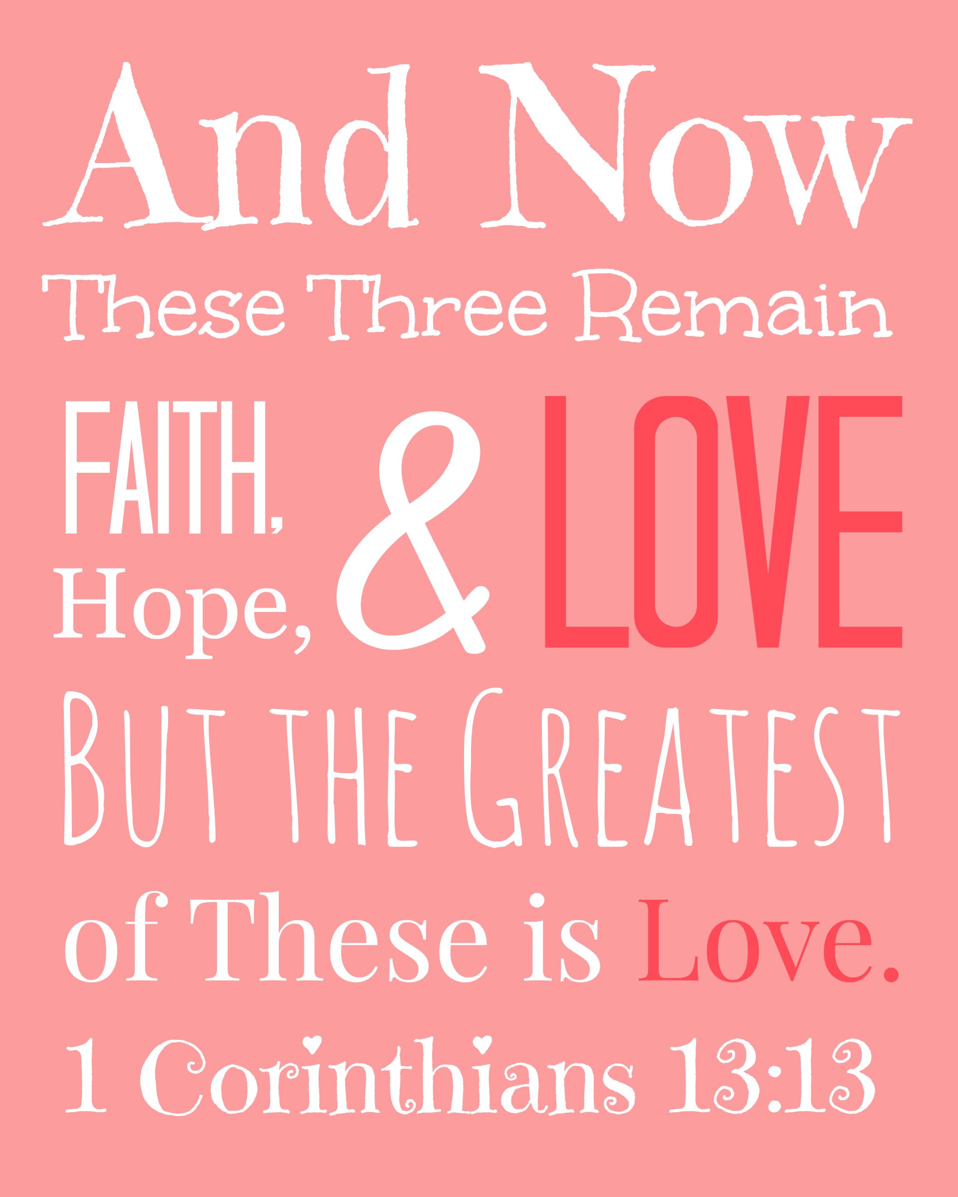 Best Images of Printable Love Bible Verses - Valentine Love ...