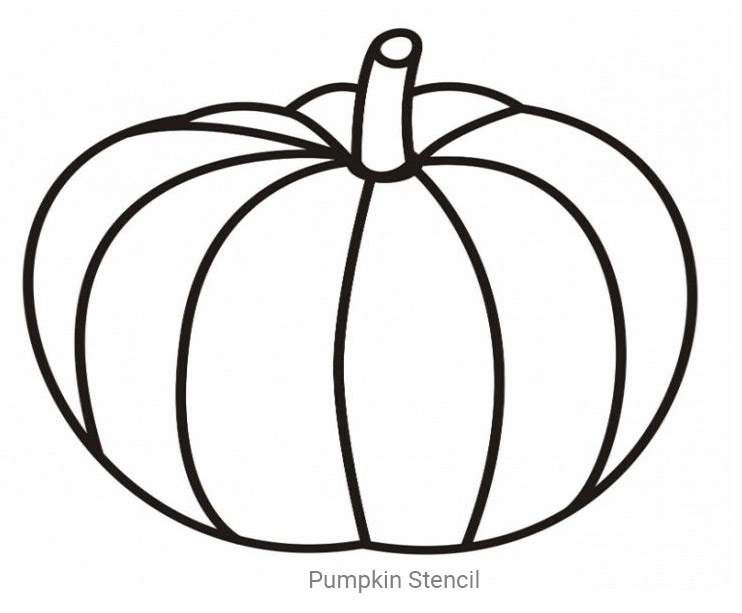 7 Images of Large Printable Pumpkin Stencils