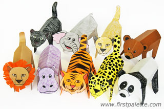 5 Images of Printable Zoo Animal Crafts