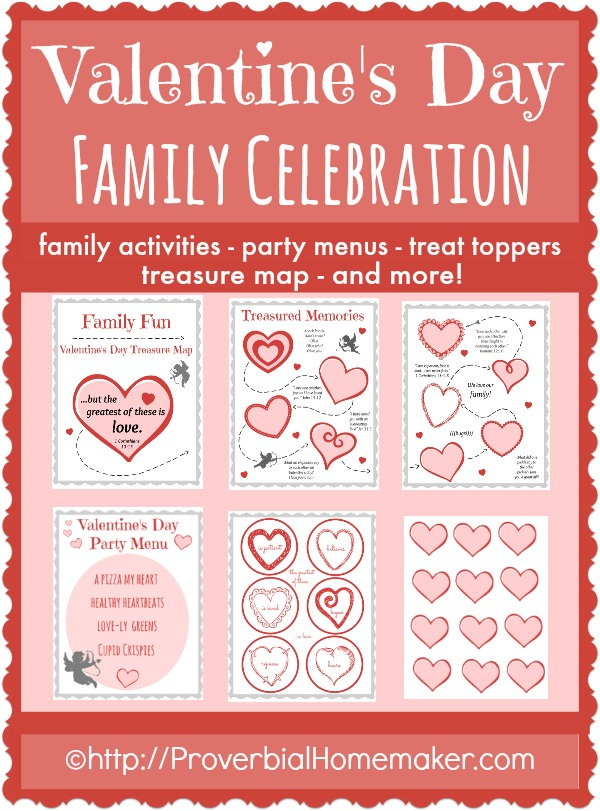 8 Images of Family Valentine Fun Printables