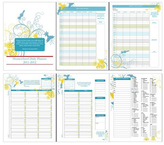 6 Images of Weekly Devotional Planner Printable