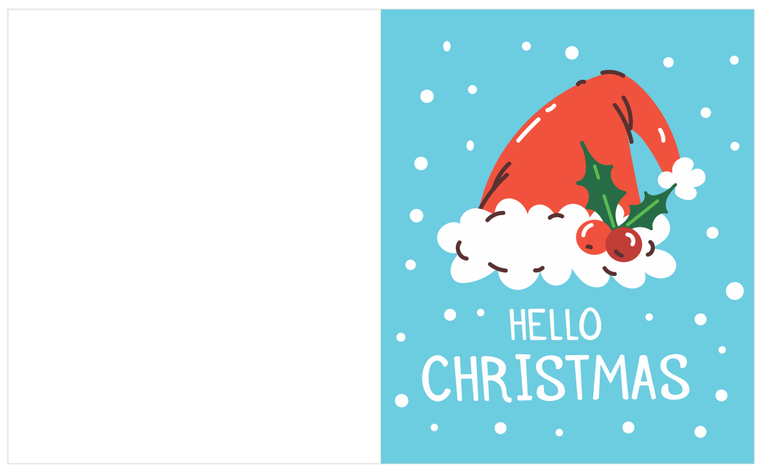 8 Images of Merry Christmas Printable Cards