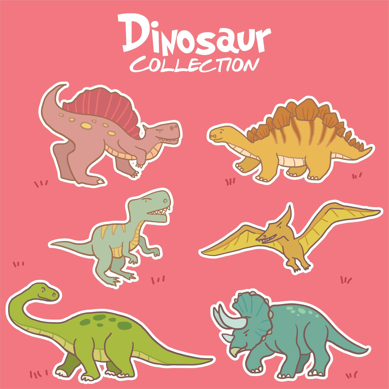 Printable Dinosaur Clip Art