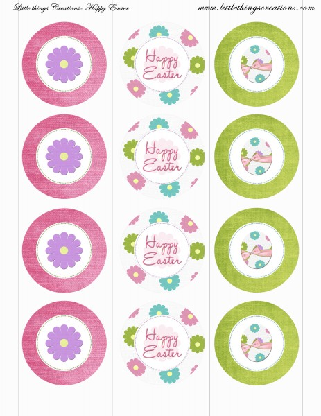 8 Images of Welcome Free Printable Cupcake Toppers