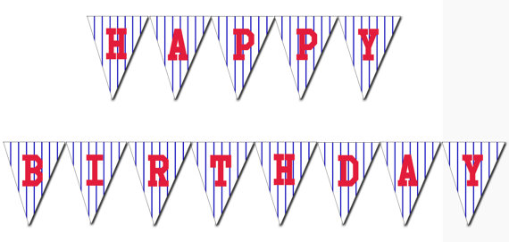 4 Images of Free Printable Baseball Birthday Banner