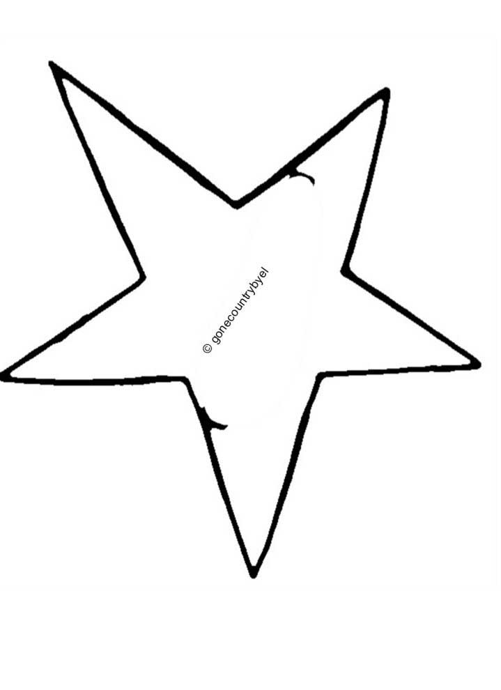 9 Best Images of Printable Star Pattern For Flag ...