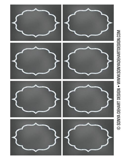 8 Images of Printable Chalkboard Teacher Name