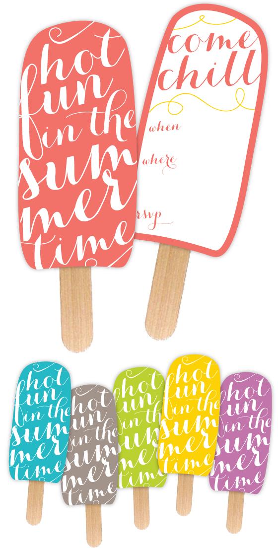 Free Printable Summer Invitations