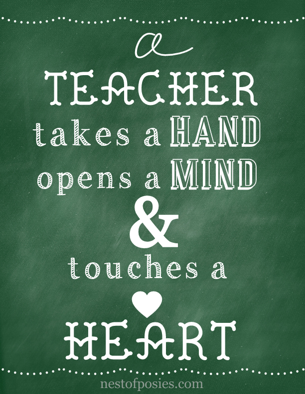 8 Images of Teacher Chalkboard Printable